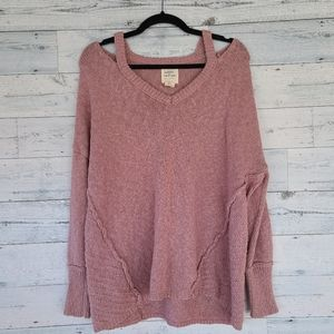 Distressed Sweater NWOT